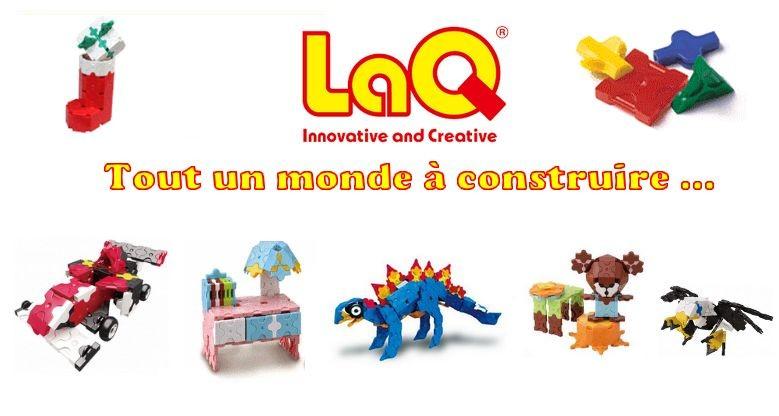 LaQ est un jeu de construction innovant et créatif