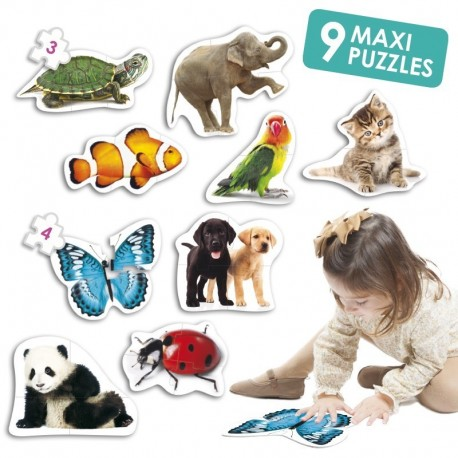 Maxi Puzzles animaux