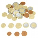 Lot de 50 pièces de monnaie