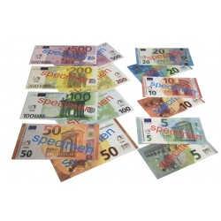 Lot de 40 billets factices
