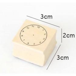 Tampon Horloge