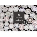 Stickers Horloges