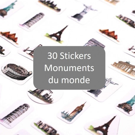Stickers Monuments