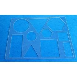 Pochoir Formes Géométriques