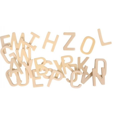 Grandes Lettres en bois