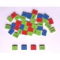 Timbres Inspiration Montessori de 1 à 1000