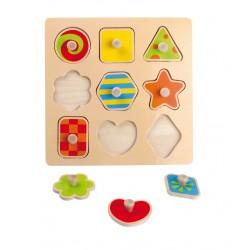 Puzzle Encastrement Formes