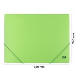 Pochette polypropylène 3 rabats format A4
