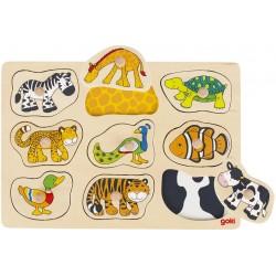 Puzzle Pelage Animal