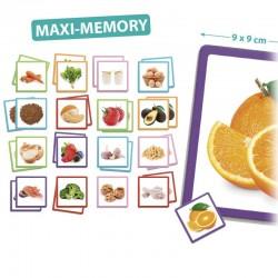 Maxi Mémory Les Aliments