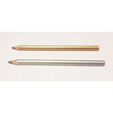 Crayon de couleur Or ou Argent