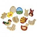 12 figurines de Pâques
