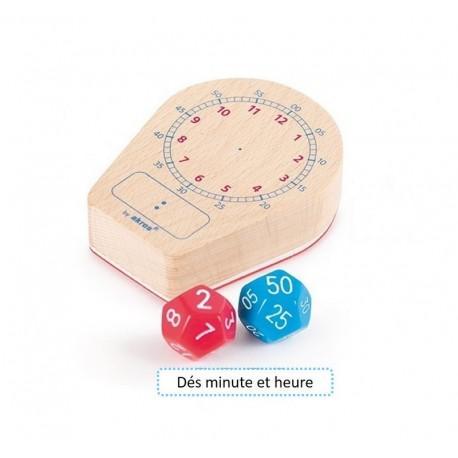 Maxi Tampon Horloge + dés