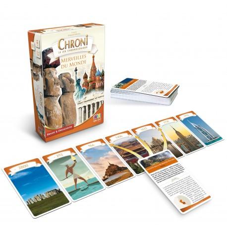 Chroni Cards Merveilles du Monde