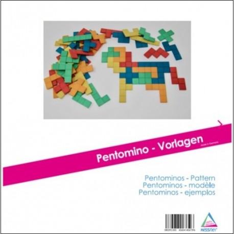 Livret de 20 modèles de Pentaminos