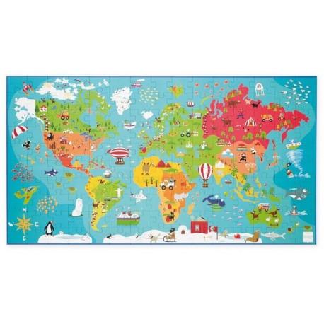 Puzzle Carte du Monde