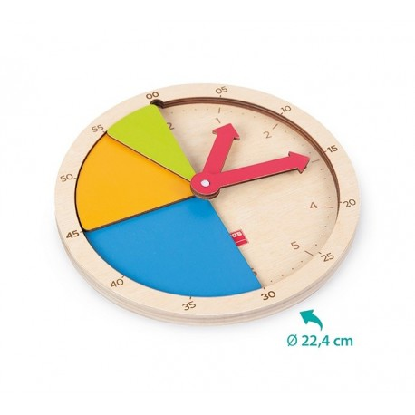 Set Horloge en bois
