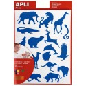 Stickers Animaux Sauvages
