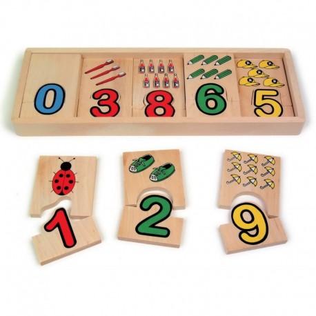 Puzzle Chiffres Quantité