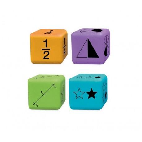 4 Dés représentation de fractions