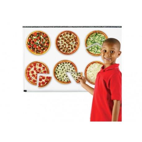 Fractions Pizzas Magnétiques