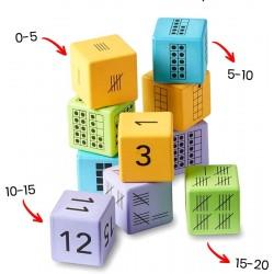 4 dés représentations multiples