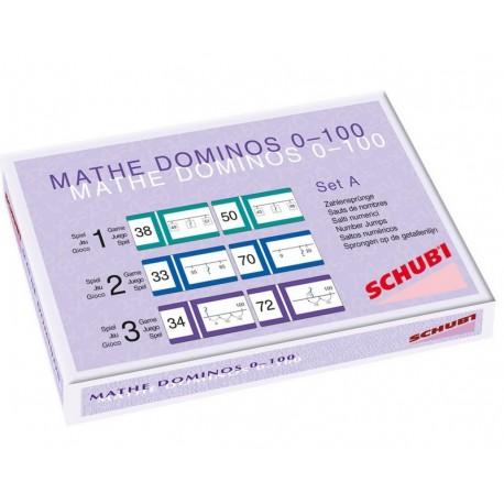 Maths Dominos de 1 à 100 Série A