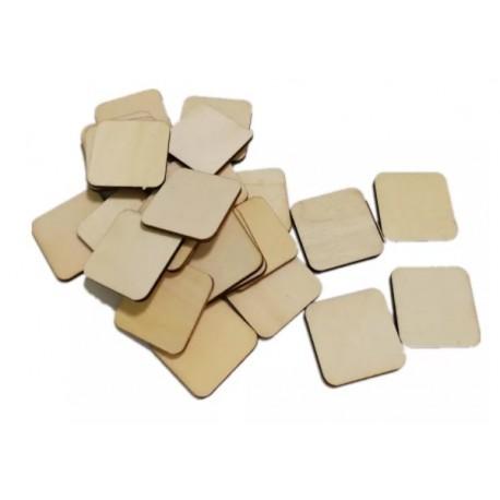 25 Pièces de puzzle en bois