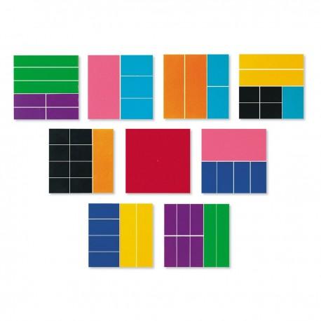 Fractions carrées