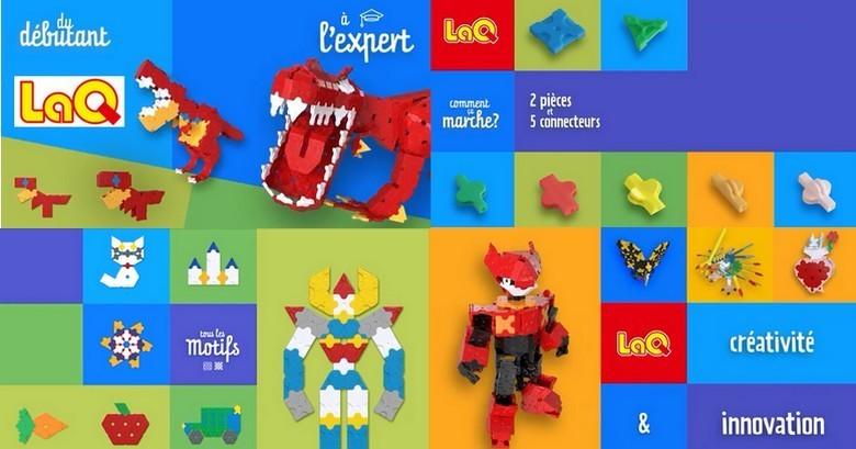 LaQ, jeu de construction innovant et créatif